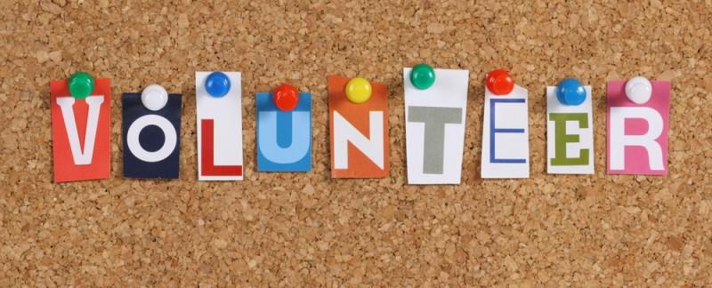 Volunteer-sign
