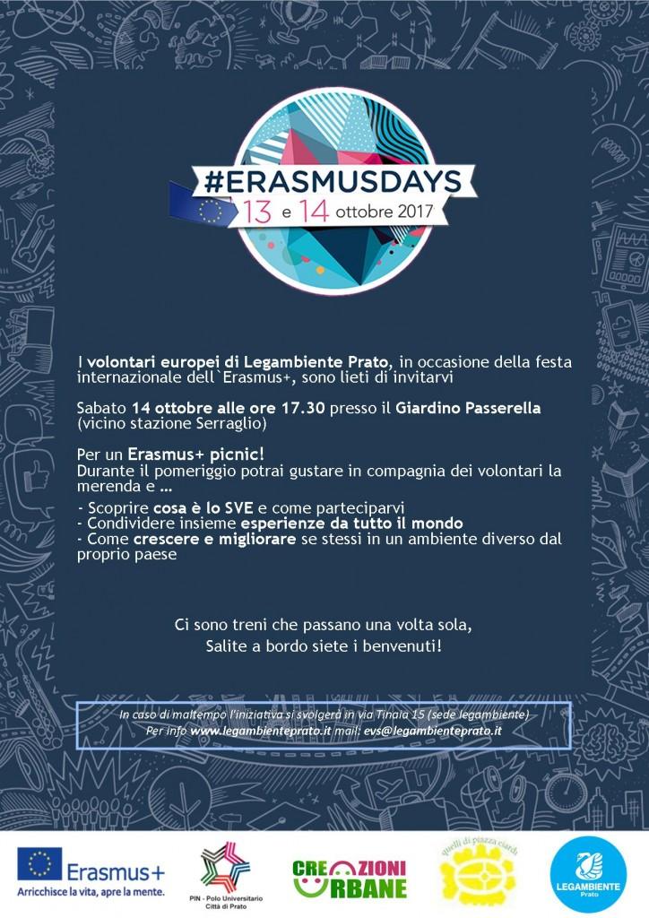 Erasmusdays leaflet